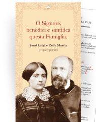 """Cartoncino Benedizione delle famiglie nelle case - """"Santi Luigi e Zelia Martin"""""""